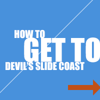 How to get to Devil's Slide Coast